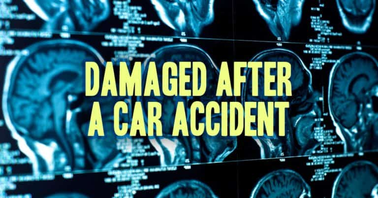 Damaged After a Car Accident