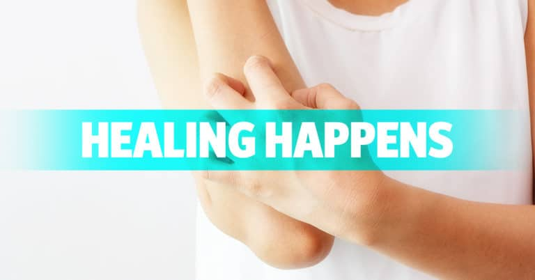 Healing Happens!