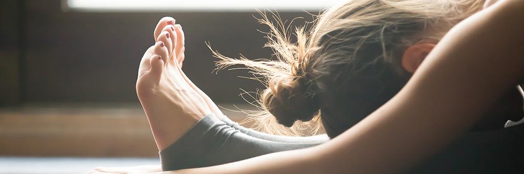 girl yoga for depression
