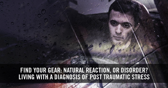 Find your gear: natural reaction, or disorder?