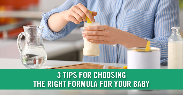 3 Tips for Choosing the Best Formula for Your Baby