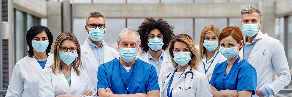 healthcare professionals pandemic coronavirus