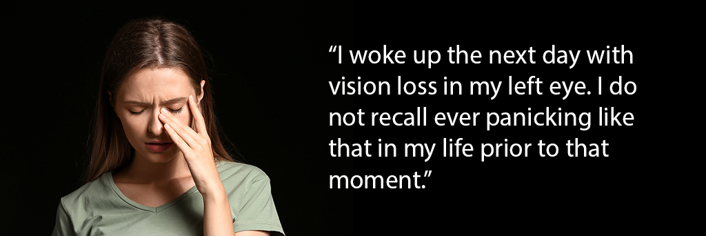 multiple sclerosis vision loss